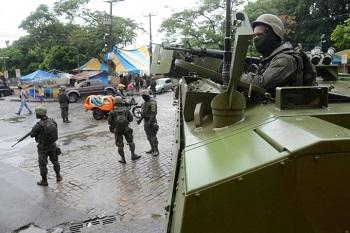 Intervenção Militar no Rio: é urgente impedir o golpe e sua face militarizada