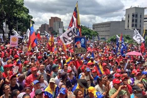 Nota de repúdio à ingerência do governo golpista de Michel Temer nos assuntos internos da Venezuela