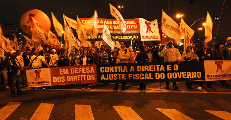 Resolução da Intersindical-CCT: Não ao impeachment. Contra o ajuste fiscal. Fora Cunha!