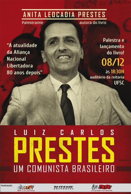 Hoje: Anita Prestes lança novo livro em Florianópolis