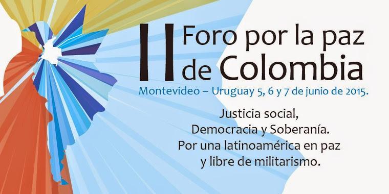 DECLARAÇÃO FINAL II FÓRUM PELA PAZ NA COLÔMBIA