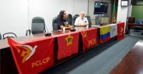 Atividade em Porto Alegre mobilizou militantes e parlamentares em defesa do movimento pela paz na Colômbia