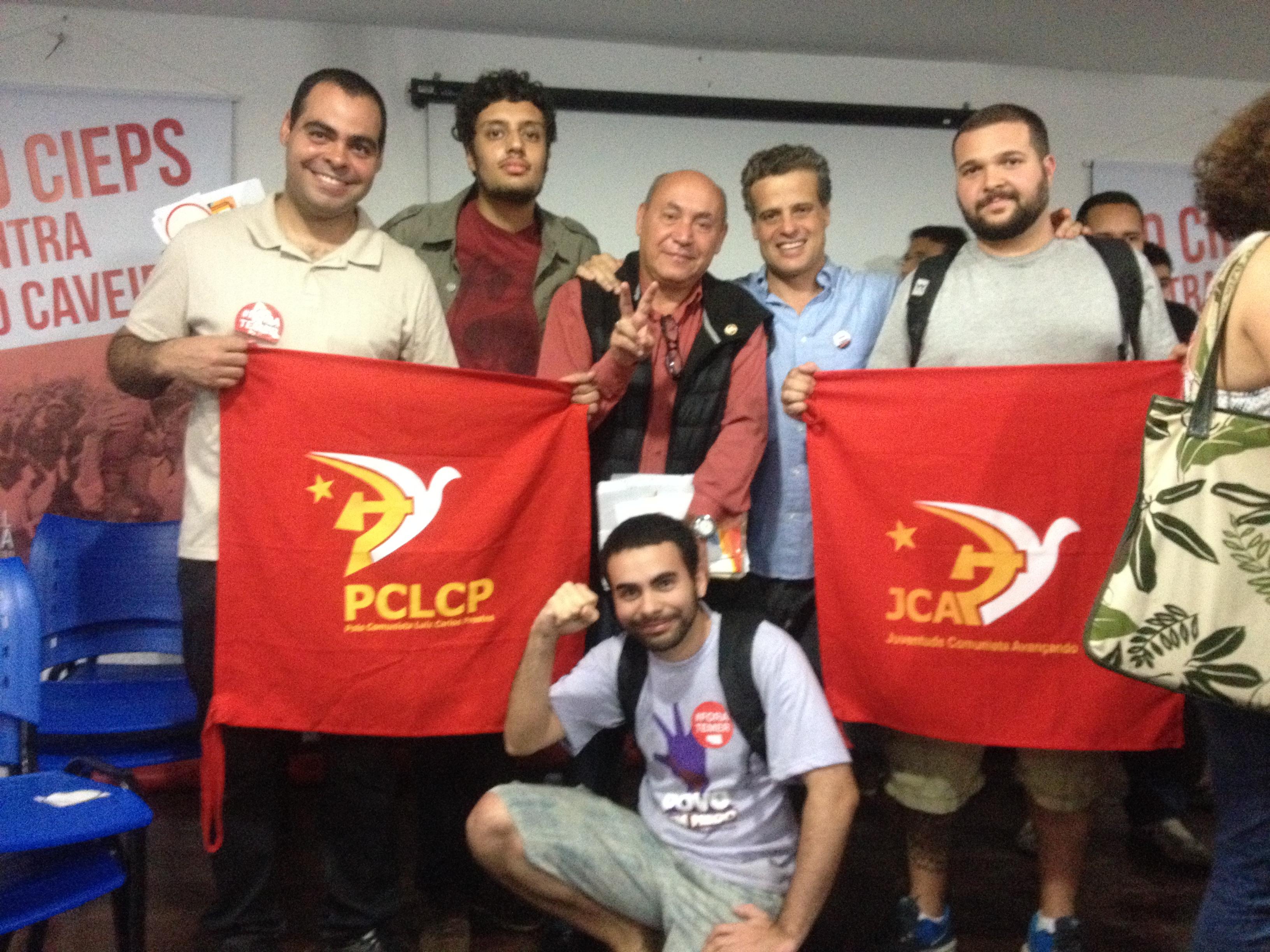 Nota Politica: os comunistas votam BRIZOLA NETO 50.000 e FREIXO 50 nas eleições do Rio de Janeiro-RJ