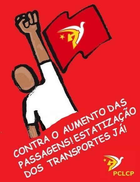 Barrar o aumento da tarifa no Rio de Janeiro