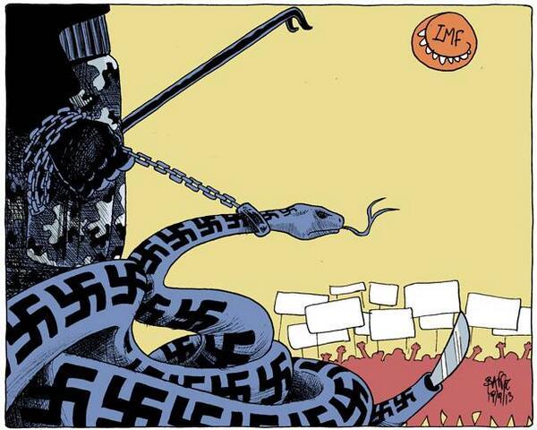 A serpente troca de pele: a fascistização do golpe no Brasil e a estrutura autocrática do Estado
