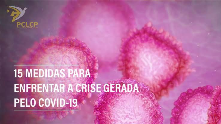 15 medidas para combater a crise do coronavírus e seu impacto na vida dos/das trabalhadores/as pobres