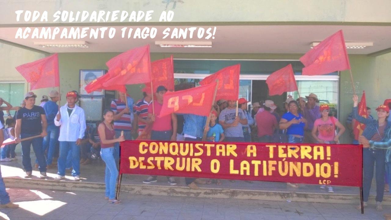 Solidaridade com a Liga dos Camponeses Pobres