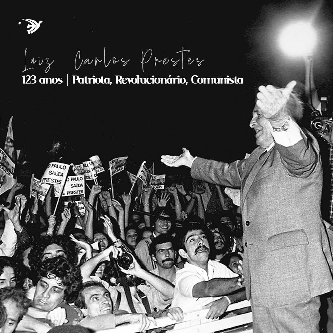 123 ANOS | LUIZ CARLOS PRESTES